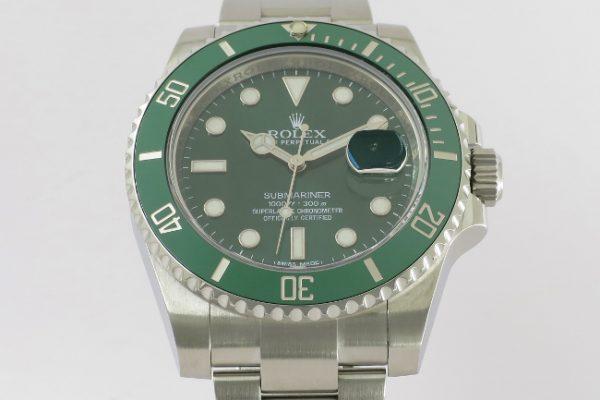人気の絶えない緑 Ref.116610LV