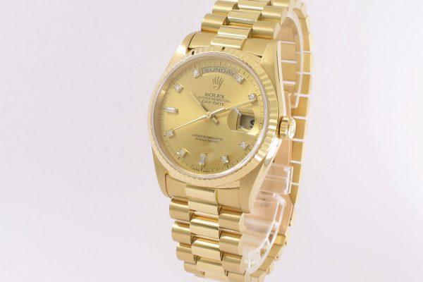 黄金の輝き、ダイヤの煌めき Ref.18238A