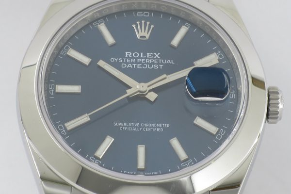 DATE JUST Blue Dial Ref.126300