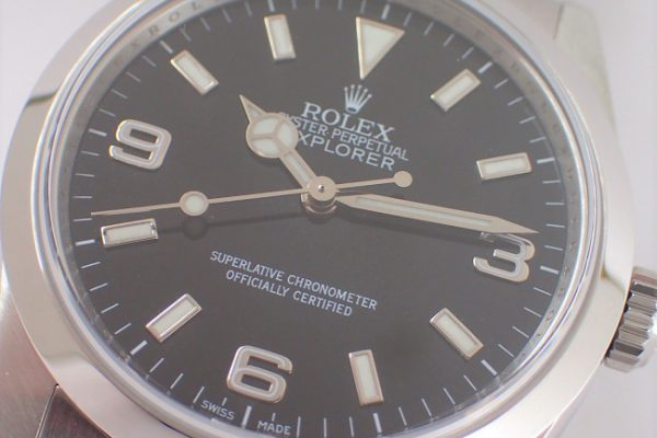 シンプルな時計はいかがですか? Ref.114270