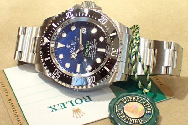 1st Dブルー Ref.116660