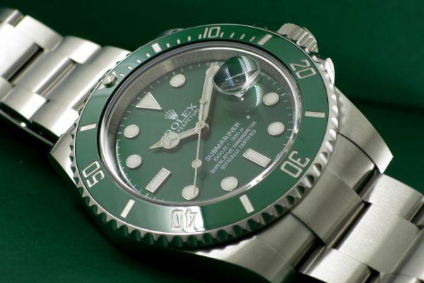 注目の全面緑 Ref.116610LV