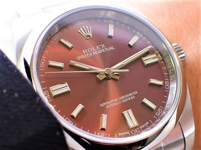 芳醇なブドウ酒の香りがしてきそうな時計 Ref.116000