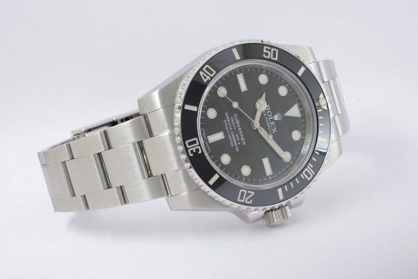 シンプルな機能美 Ref.114060