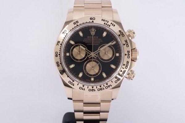 ゴージャスなのにカジュアルテイストな時計。 Ref.116505